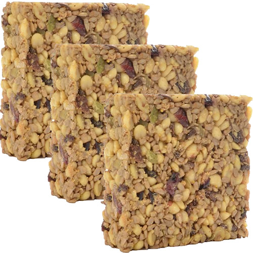 Woodpecker Blend Seed Cake, Set of 3