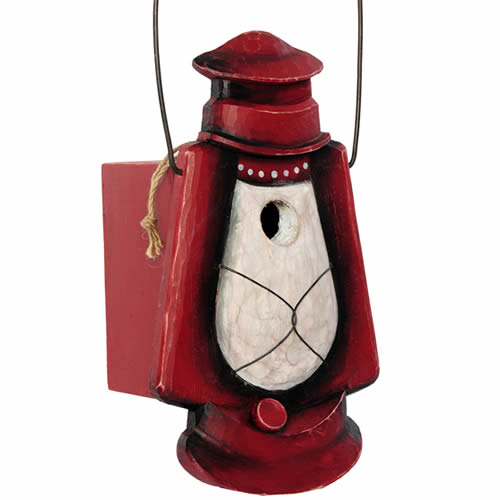 Hurricane Lantern Bird House
