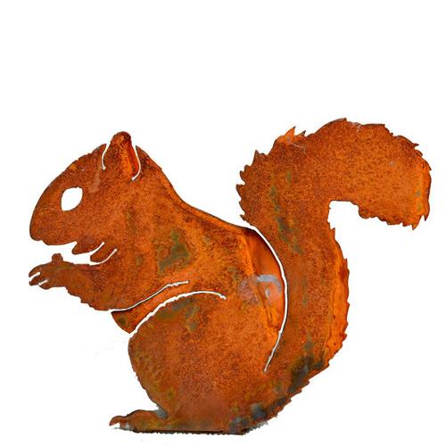 Rustic Nibbling Squirrel