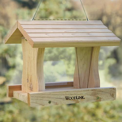Deluxe Cedar Hopper Feeder