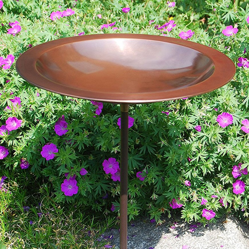 Classic II Bird Bath with Stake