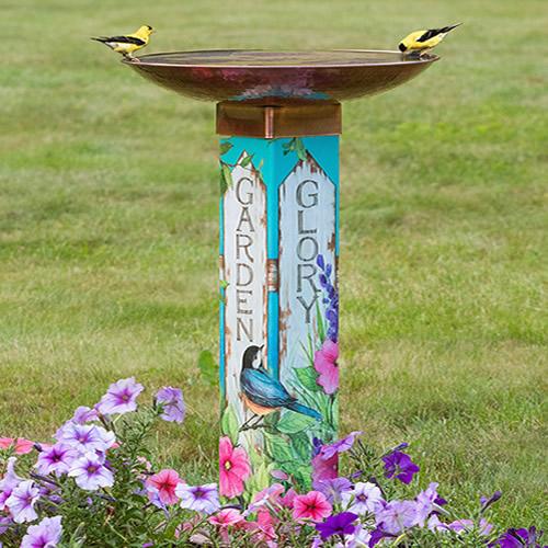 Garden Glory Birdbath