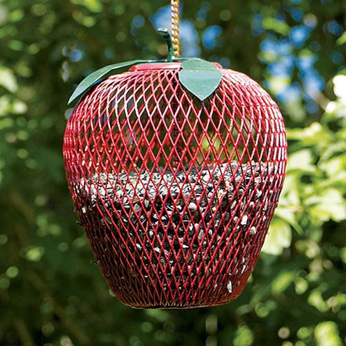 Duncraft Com Apple Wire Mesh Bird Feeder