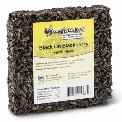 Black on Blackberry Seed Jr. Cake, Set of 3