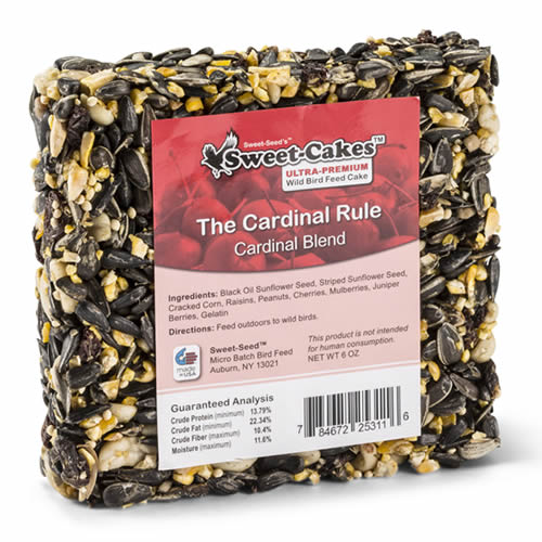 Cardinal Rule Seed Jr. Cake, Set of 3