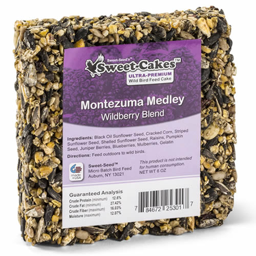 Montezuma Medley Wildberry Seed Jr. Cake, Set of 3