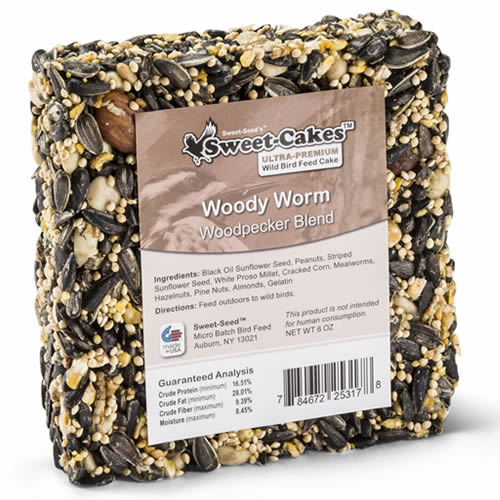 Woody Worm Seed Jr. Cake, Set of 3
