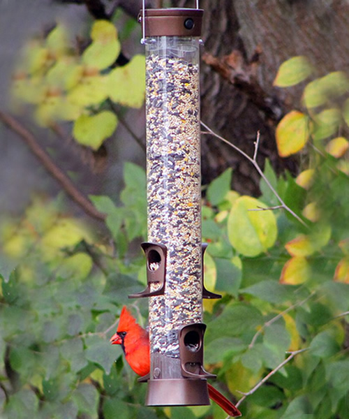 SureFill Metal Mixed Seed Bird Feeder