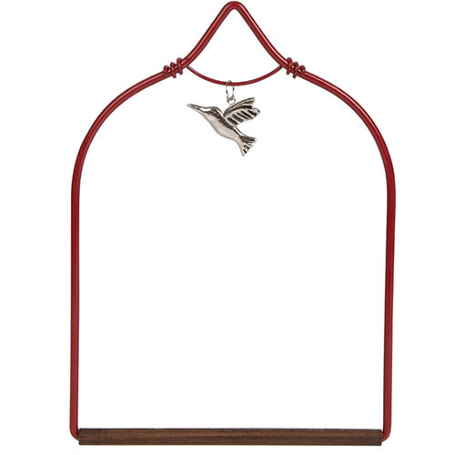 Charmed Red Hummingbird Swing