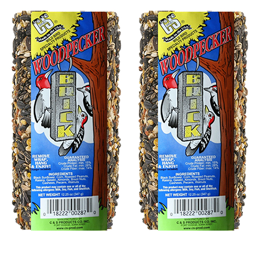 Woodpecker Brick - Set of 2