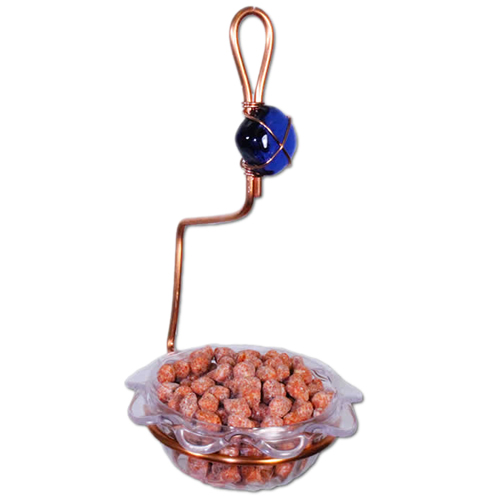 Single Dish Bluebird Feeder