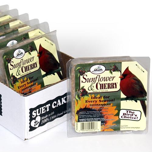 Duncraft com: Sunflower Cherry Suet Cakes