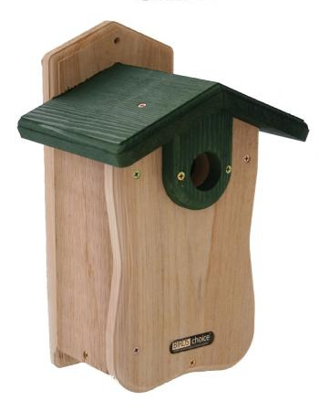 Natural Cedar Bluebird House