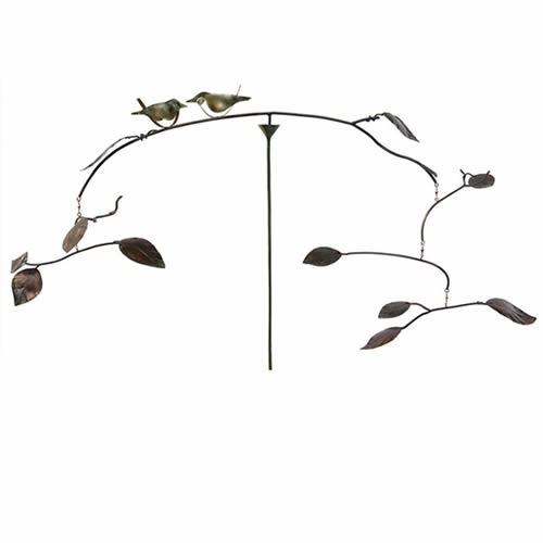 Birds and Leaves Balancer Stake