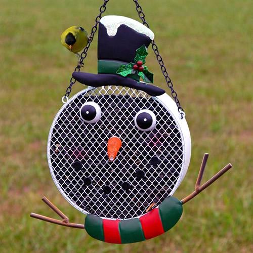 Snowman Mesh Bird Feeder (GEF1000) photo