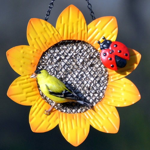 Sunflower Mesh Bird Feeder (GEF1001) photo