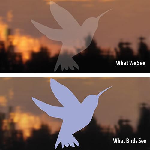 Bird-Safe ® Hummingbird Window Decals