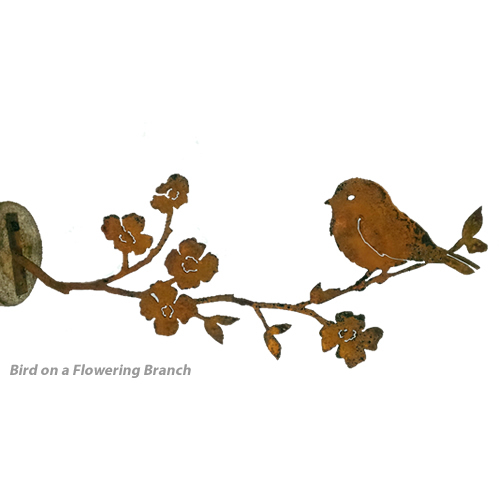 Rustic Bird on a Branch