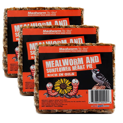 Mealworm Cake - Set of 3