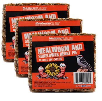 Mealworm Cake, Set of 3