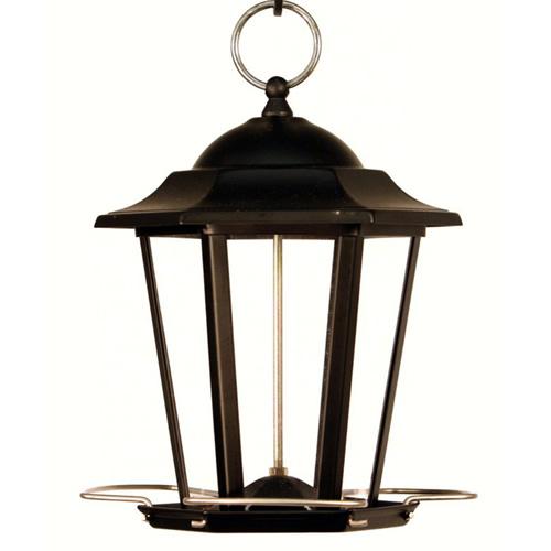 Duncraft Com Black Carriage Lantern Feeder