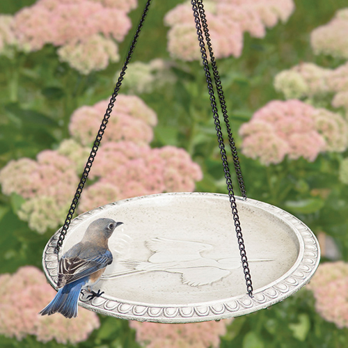 Audubon Hanging Bird Bath