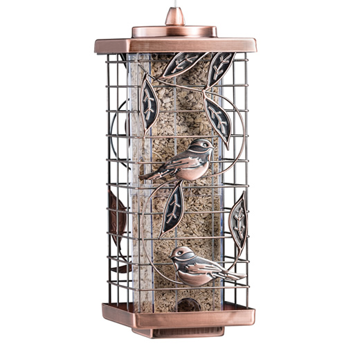 Caged Leaf Tube Feeder