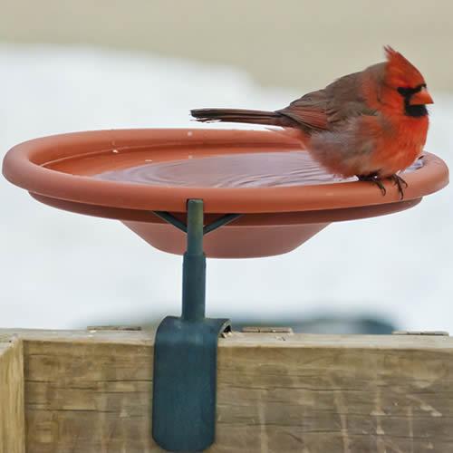 Deck Mount Bird Bath