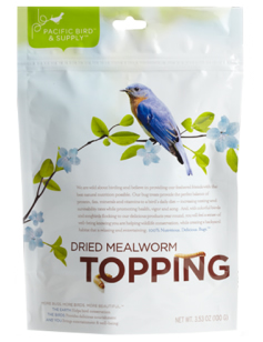 Dried Mealworms Topping