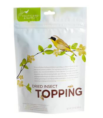 Dried Insect Topping