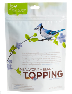 Mealworm & Berry Topping
