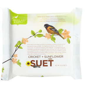 Cricket Sunflower Suet 6 Cakes