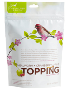 Mealworm Berry Topping