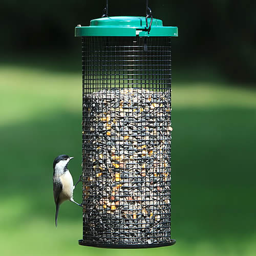 Sunflower Mesh Wild Bird Feeder
