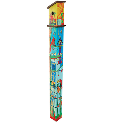 Friends Birdhouse Pole