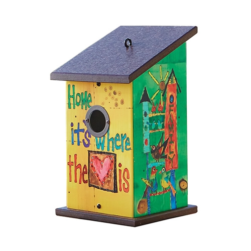 Where the Heart is Birdhouse