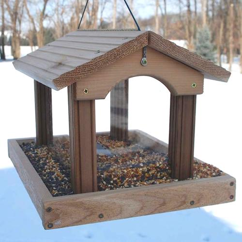 Premier Cedar Pavilion Hopper