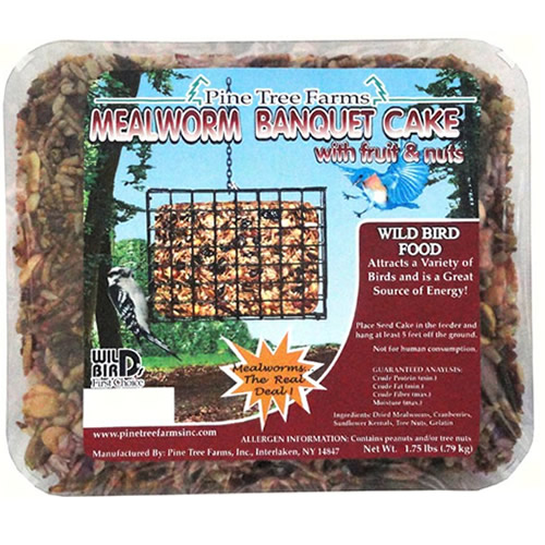 Mealworm Banquet Large Seed Cake