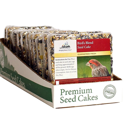 Birds Blend Mini Seed Cake, Set of 12