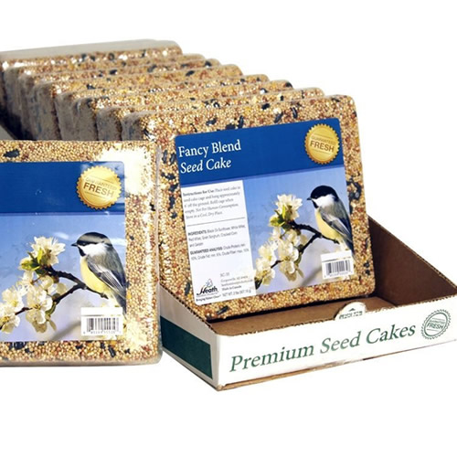 Premium Fancy Blend Seed Cake, Set of 10