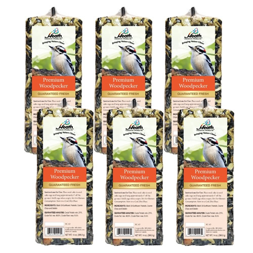 Premium Woodpecker Bar, Set of 6