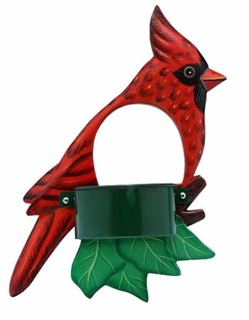 Cardinal Window Bird Feeder