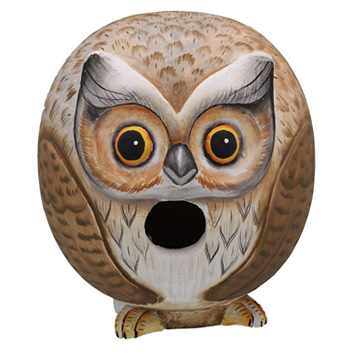 Owl Gord-O Bird House