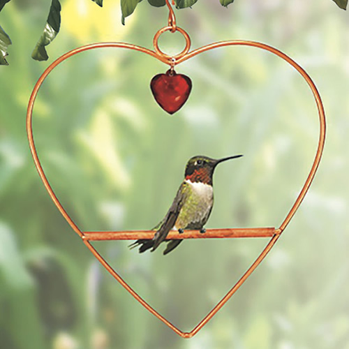 Tweet Heart Birdie Swing Copper Colored