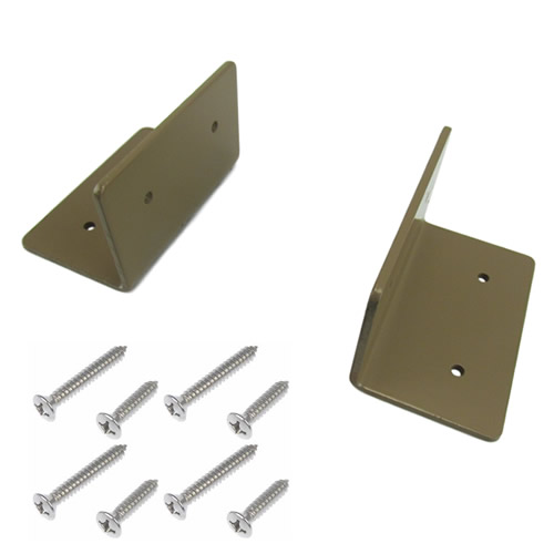 4 x 4 Mounting Bracket Flange Set
