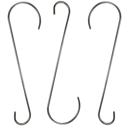 18- Heavy Duty Stainless Steel Branch - Set of 3