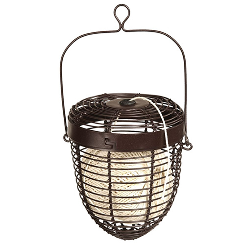 Wire Basket Holder and Cotton
