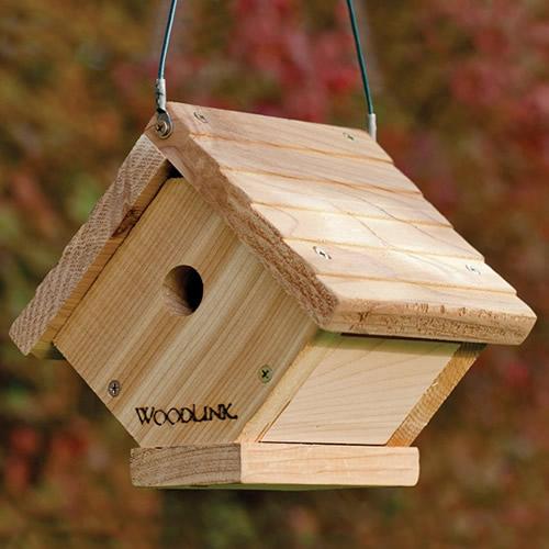 Duncraft Com Woodlink Cedar Traditional Wren House