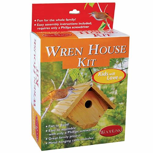 Wren Bird House Kit (WRENKIT) photo