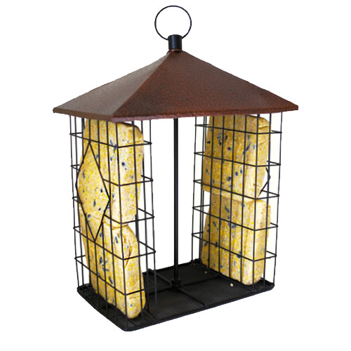 Fly-Through Suet Cake Feeder